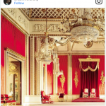 Buckingham Palace Changing Interior Photo C INSTAGRAM