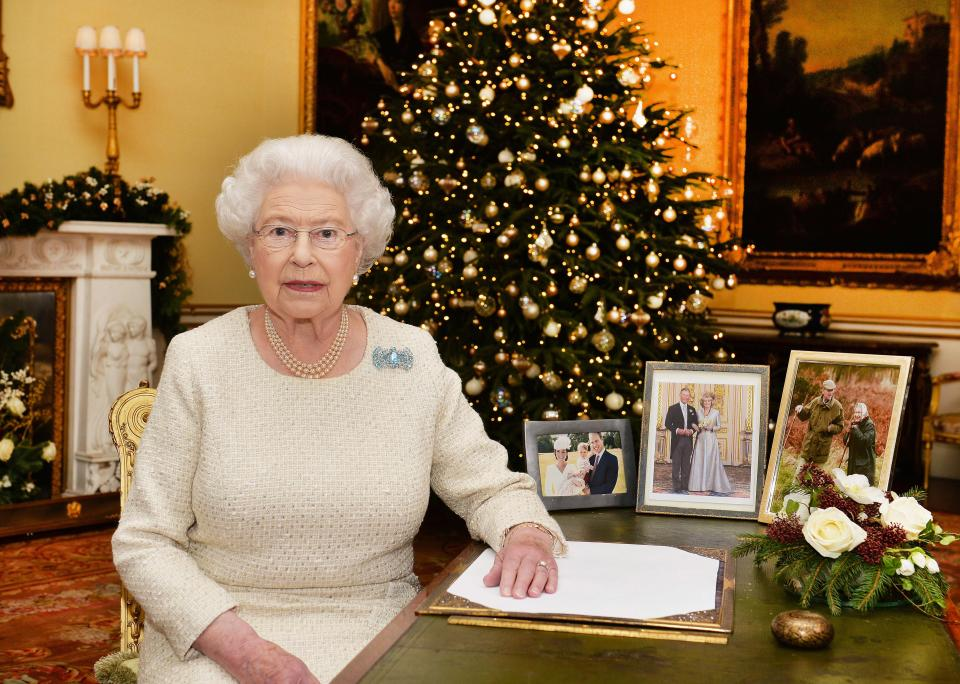 Burrell said nothing fazed the Queen, with the monarch even having given him marital advice Photo (C) GETTY IMAGES