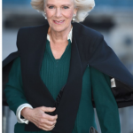 Camilla arrives to attend the U.K. CEO Cook Off in support of U.K. Harvest and the Jamie Oliver Food Foundation in London on March 21.
