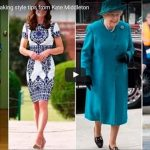 Catherine Duchess of Cambridge Kate Middleton Queen Elizabeth Style
