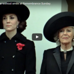 Duchess of Cambridge without smile at Remembrance Sunday