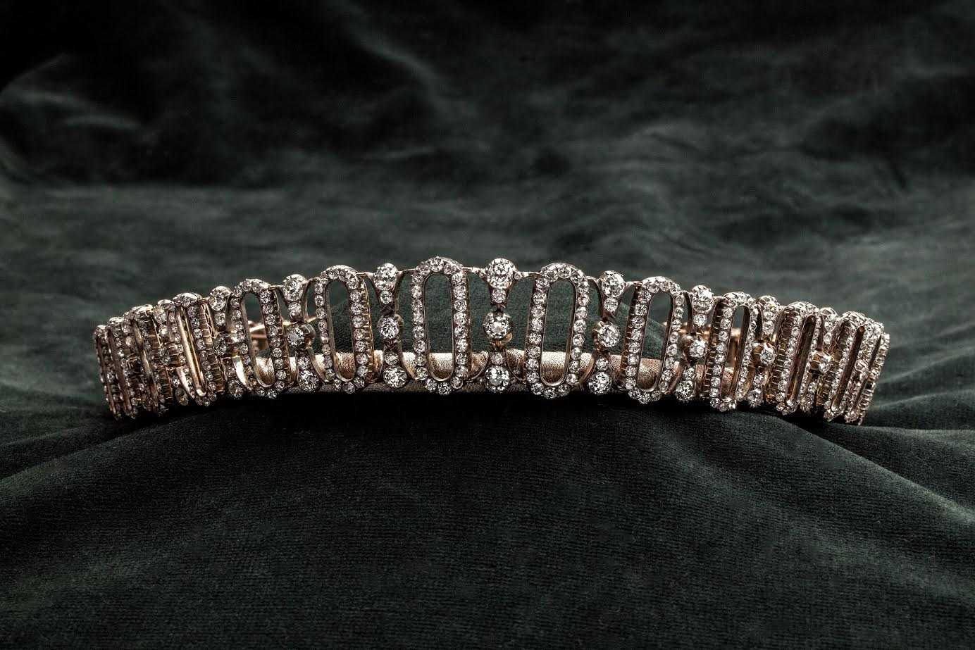 Edwardian tiara belonging to Princess Dianas family