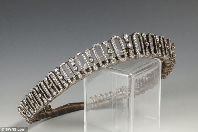 Edwardian tiara belonging to Princess Dianas family
