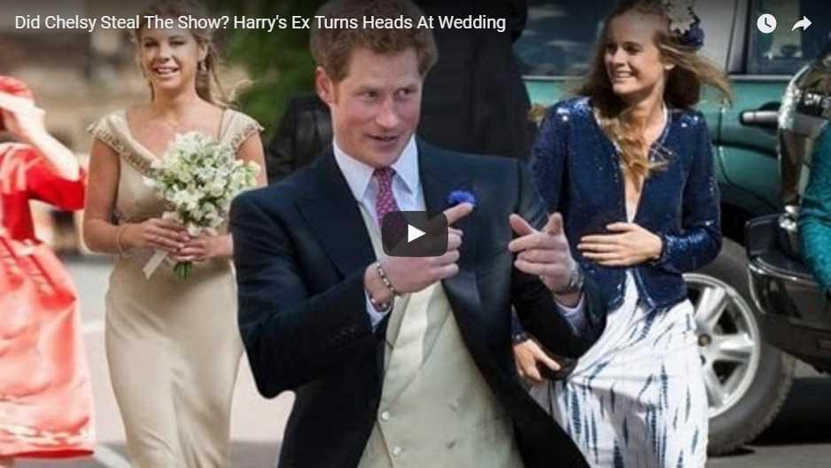 Harrys Ex Turns Heads At Wedding