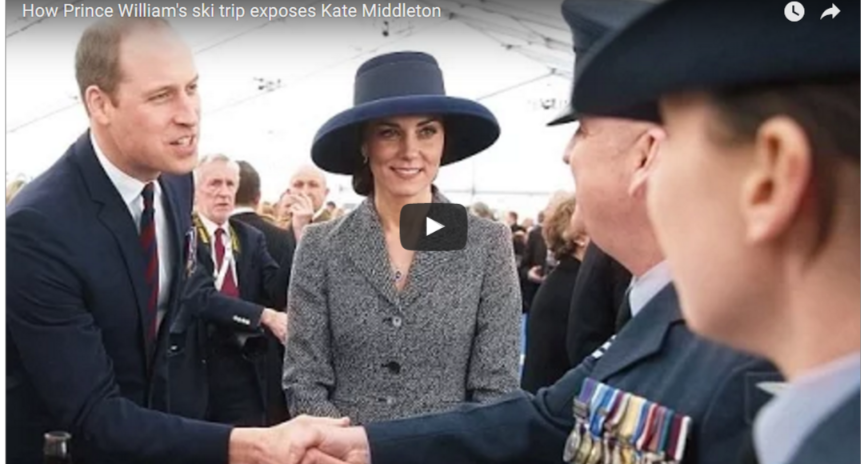 How Prince Williams ski trip exposes Kate Middleton