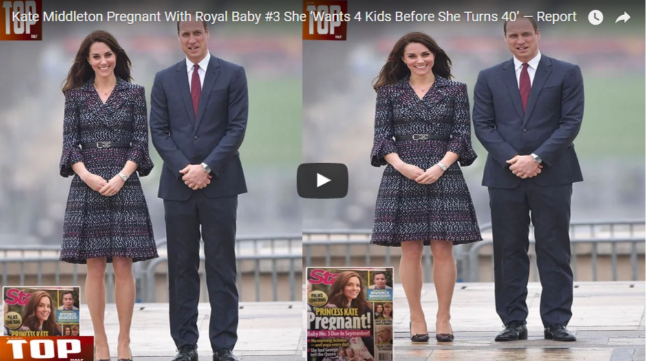 Kate Middleton Pregnant With Royal Baby 3 She 'Wants 4 Kids Before She Turns 40' — Report