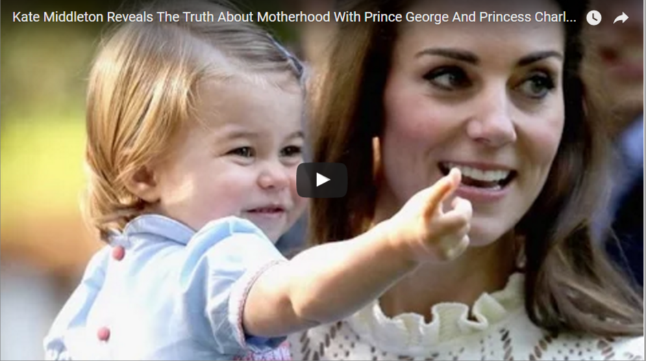 Kate Middleton Reveals The Truth About Motherhood With Prince George And Princess Charlotte