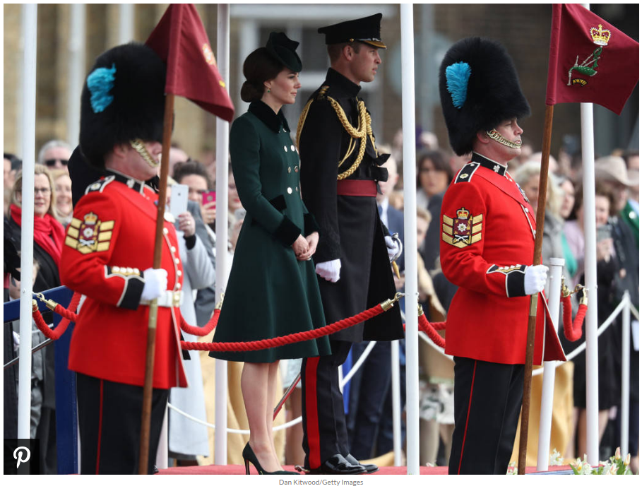 Kate Middleton is standing by her man—literally and figuratively