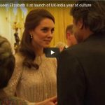 Kate Middleton join Queen Elizabeth II at launch of UK India year of culture