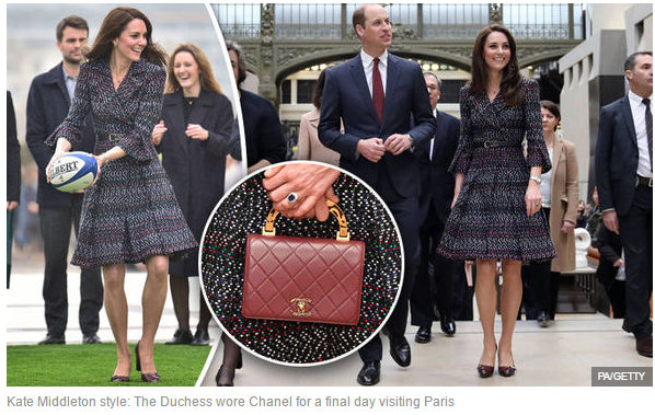 Kate Middleton style The Duchess wore Chanel for a final day visiting Paris