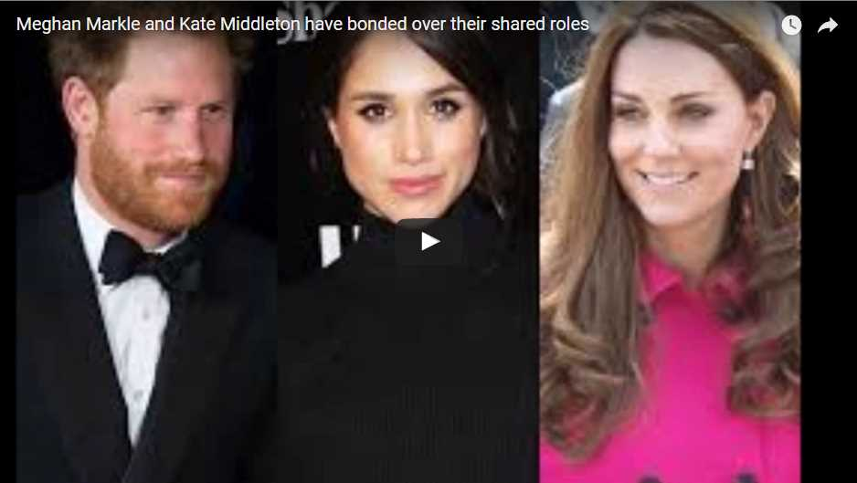 Meghan Markle and Kate Middleton have bonded over their shared roles