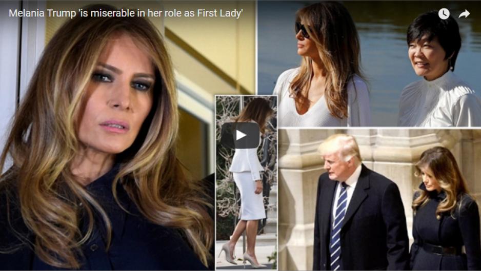 Melania Trump Donald Trump First Lady