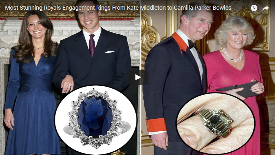 Most Stunning Royals Engagement Rings From Kate Middleton to Camilla Parker Bowles