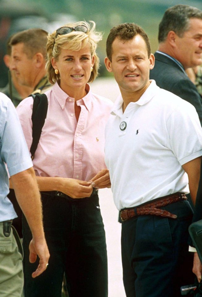 Paul Burrell was Diana's rock saying she trusted him with the secret of her pregnancy Photo C REX FEATURES