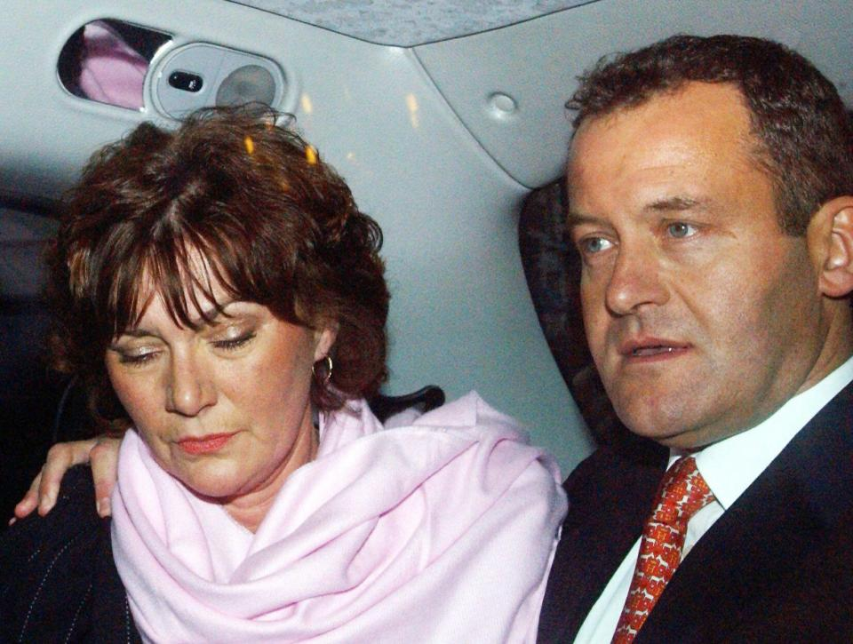 Paul Burrell was married to his wife Maria for 30 years before their divorce Photo (C) GETTY IMAGES