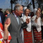 Prince Charles showed his moves with a group of Romanian ladies Photo C GETTY