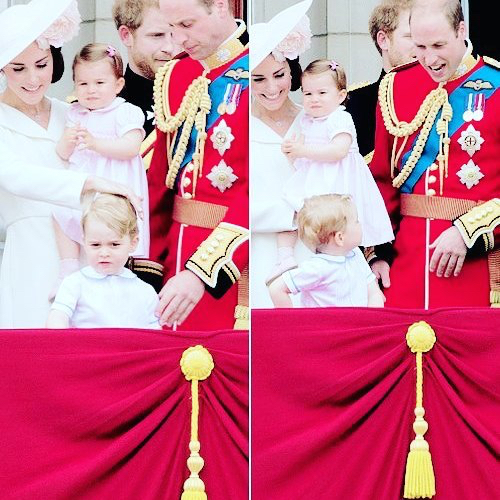 Prince George and Princess Charlotte Elizabeth Diana Photo (C) GETTY IMAGES-