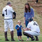 Prince George at a polo match for charity Photo C GETTY IMAGES