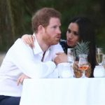 Prince Harry and his girlfriend Meghan Markle attend a wedding in Jamaica on March 3 2017