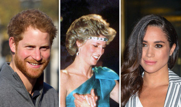 Prince Harry wants to turn Princess Dianas tiara into an engagement ring for Meghan Markle Photo C GETTY 1