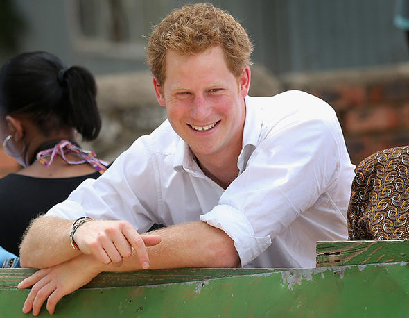 Prince Harry will propose on his mother's birthday, according to a Palace source Photo (C) GETTY