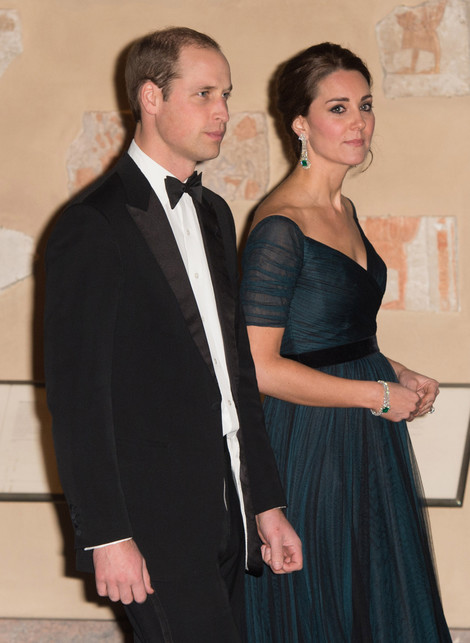 Prince William and Catherine Duchess of Cambridge Upset Photo (C) GETTY IMAGES