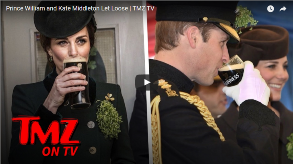Prince William and Kate Middleton Let Loose