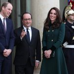 Prince William and Kate had a meeting with French president Francois Hollande. Photo C GETTY IMAGES