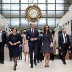 Prince William and Kate visited the Musee dOrsay during their visit to Paris. Photo C GETTY IMAGES