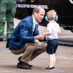 Prince William and Prince George Photo C GETTY