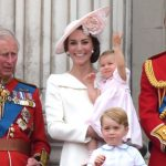 Princess Charlotte looks ready to upstage her look alike great grandmother. Shes got that royal wave going strong Good idea to practice early Photo C Tony Clark Splash News