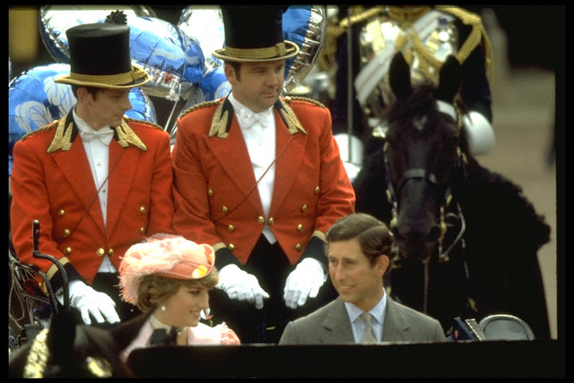 29 Jul 1981 --- MARRIAGE OF CHARLES AND DIANA --- Image by © Sygma/Corbis