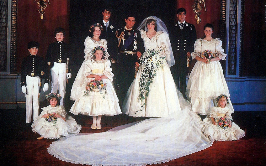 Princess Diana Wedding Day Photo C GETTY IMAGES 0151