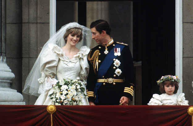 Princess Diana Wedding Day Photo C GETTY IMAGES 0170