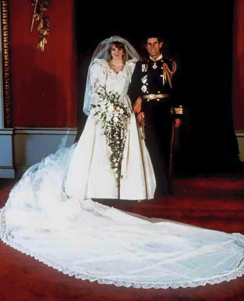 Princess Diana Wedding Day Photo C GETTY IMAGES 0168