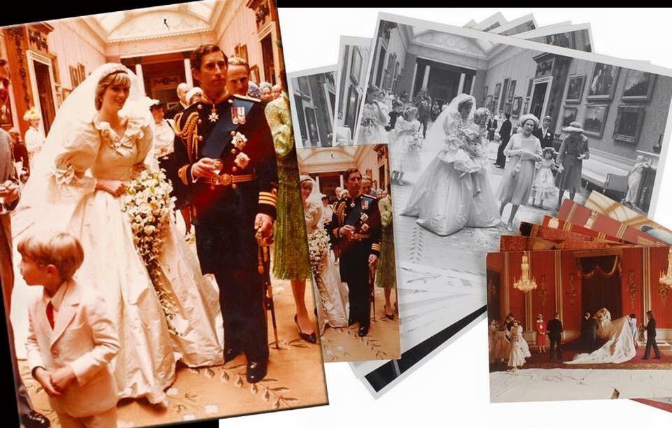 Princess Diana Wedding Day Photo C GETTY IMAGES 0177