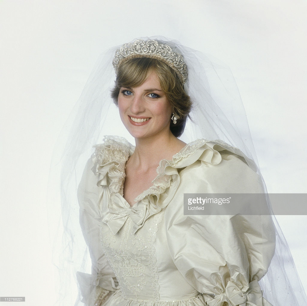 Princess Diana Wedding Day Photo C GETTY IMAGES 0204