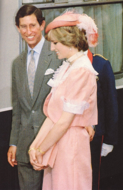 Princess Diana and Prince Charles Photo (C) GETTY IMAGES
