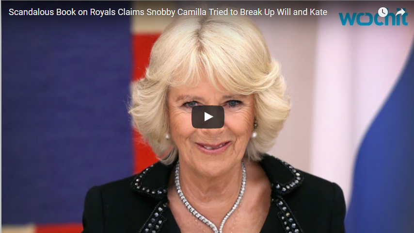 Scandalous Book on Royals Claims Snobby Camilla Tried to Break Up Will and Kate