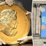 The Big Maple Leaf worth £2.7mn was stolen from a Berlin museum last night Photo C REUTERS