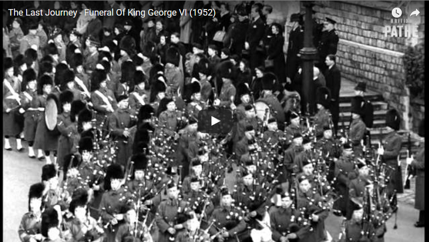 The Last Journey Funeral Of King George VI 1952