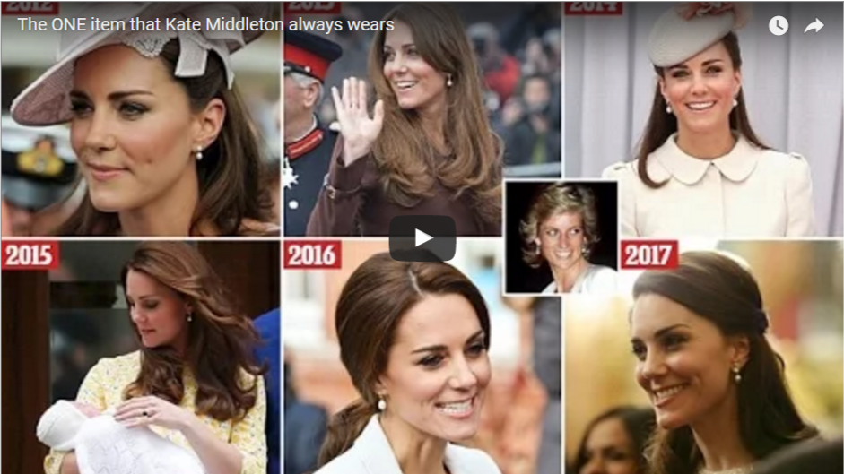 Video The ONE item that Kate Middleton always wears