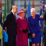 The Queen started the countdown to the 2018 Commonwealth Games launching the baton relay at Buckingham Palace. MoD