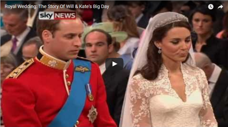 The Story Of Prince William Catherine Duchess of Cambridges Big Day