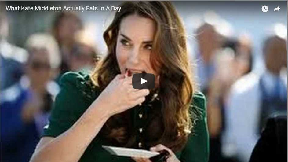What Kate Middleton ActuallWhat Kate Middleton Actually Eats In A Dayy Eats In A Day