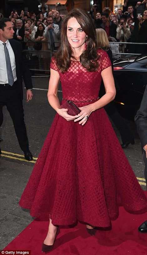 Duchess of Cambridge attends a musical in the West End Photo (C) GETTY IMAGES