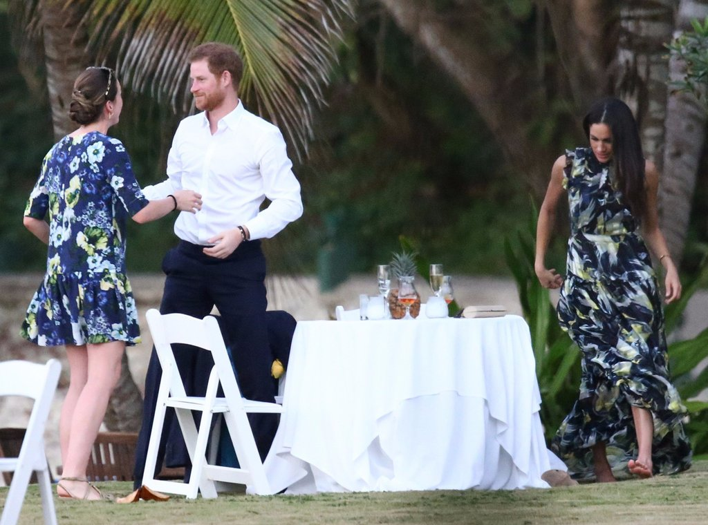 Prince Harry and Meghan Markle at Wedding in Jamaica 2017 Photo (C) GETTY IMAGES