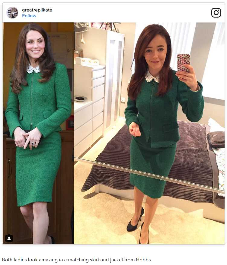 01 This Woman Loves Kate Middleton So Much She Copies Her Outfits Exactly Photo C GETTY IMAGES INSTAGRAM