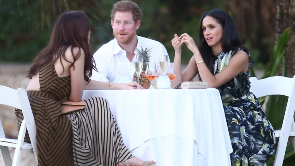 05 Prince Harry and Meghan Markle at Wedding in Jamaica 2017 Photo C GETTY IMAGES