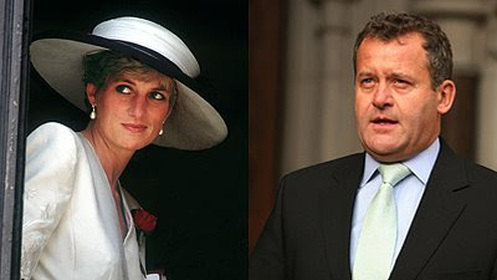 Paul Burrell and Princess Diana Photo (C) GETTY IMAGES